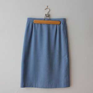 Vintage Blue Skirt from Germany
